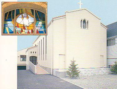 小田原十字町教会で監督夫妻と再会