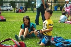 サマーキャンプと幼稚園初日
