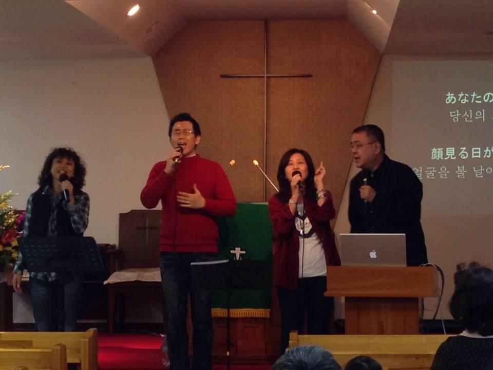 NCM2_Choir_at_在日大韓基督教会・西新井教会