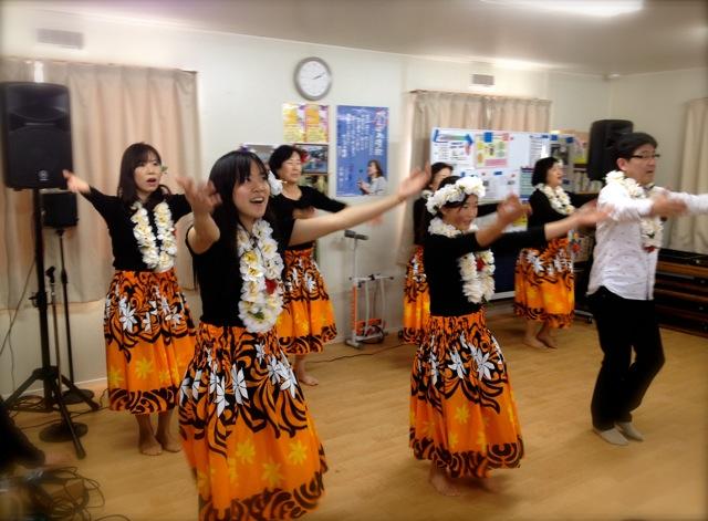 仙台グレースチャペル・ゴスペル・フラダンス・チーム