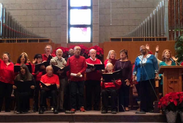 アーメン・クワイヤー(Amen Choir)とNCM2 Choirがジョイントでライブ