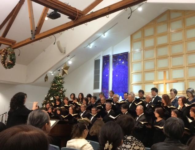 南加キリスト教教会連合主催の市民クリスマス