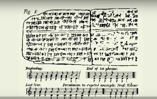 世界最古〜3400年前の賛美歌のメロディ・・