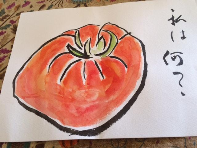 トマトのような柿