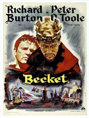 映画「ベケット」(放蕩の達人から聖い聖人に変身)