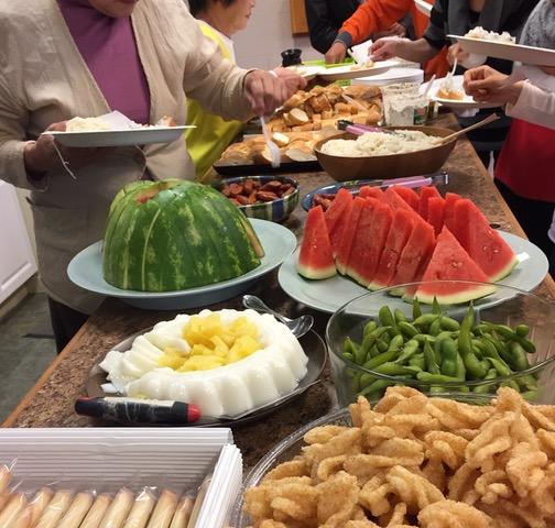 使徒行伝6章のステパノと同じ、主の食卓に携わる事の楽しさを味わう